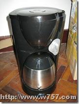 破旧的咖啡壶
